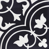 Tulips Evening Cement Tiles, Sample