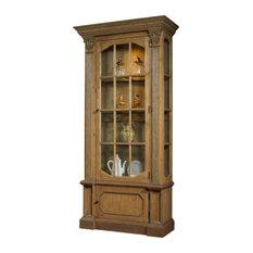 Glass Door Curio Cabinet | Houzz