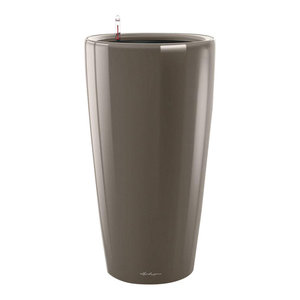 Rondo Self Watering Planter, 40x75 CM, Taupe