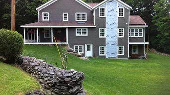 Historical 1850 farmhouse restoration