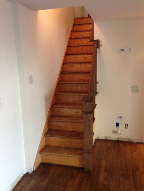 I Would Like Paint The Risers And Side Of Stairs White