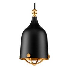 Luxury Americana Pendant Light, Cincinnati Series, Midnight Black