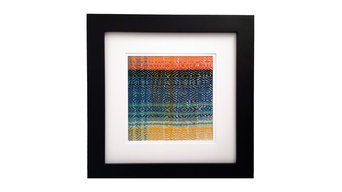 Sunrise Framed Weaving #4