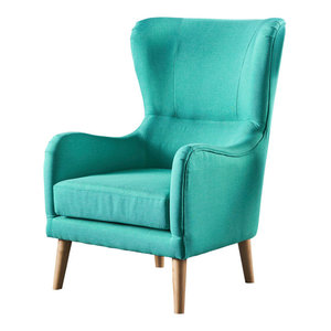 Ethan Velvet Chair Midcentury Armchairs And Accent