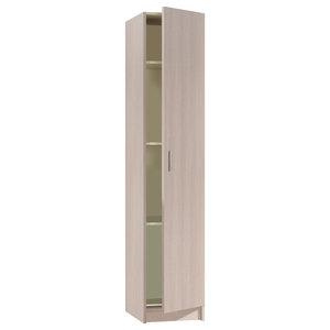 Vita Multi-use Oak 1 Door Wardrobe