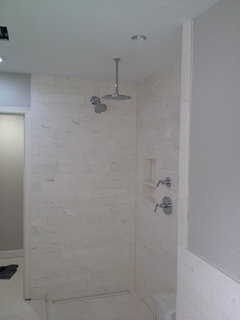 How Many Shower Heads Would You Install In A 5 3 Long Space