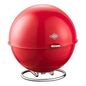 Wesco Superball Bread Bin, Red