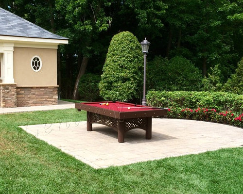 The Custom Tuscany Outdoor Pool Table