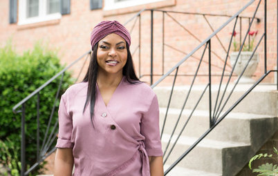 My Houzz: 'Empire' Star Taraji P. Henson Renovates Stepmum's Home