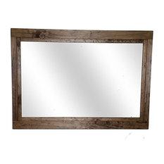 "Provincial Farmhouse Style Vanity Mirror, 36""x30"""