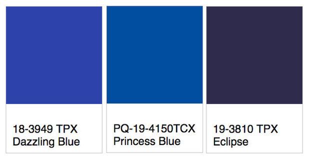 Colour Trend: Bright blue