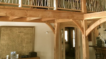 Western Style Timber Frame House