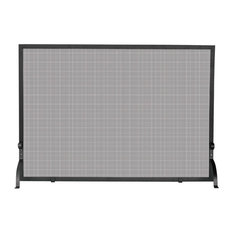 UniFlame - Single Panel Olde World Iron Screen Small - Fireplace Screens