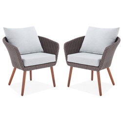 Midcentury Outdoor Lounge Chairs by Bolton Furniture, Inc.