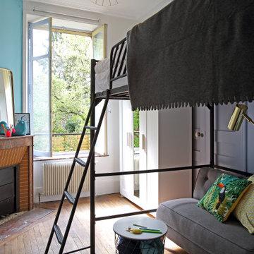 Aménagement de colocation dans un appartement Haussmannien