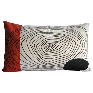 Rectangular Trail Pattern Cushion