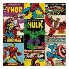 Marvel Vintage Breakout Comic Wallpaper, Roll