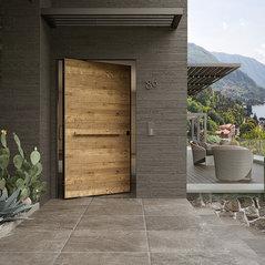Atelier Bertoli Portes Boiseries Domazan FR - Porte placard coulissante jumelé avec porte blindée marseille