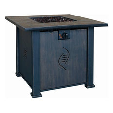 Bond Mfg - Bond 68487A Lari Gas Fire Table - Fire Pits
