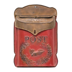 Red and Rust Post Box