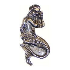 Mermaid Cabinet Knob, Oil Rubbed Bronze