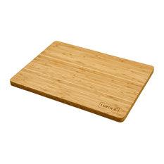 Flat Bamboo Chopping Board, Large