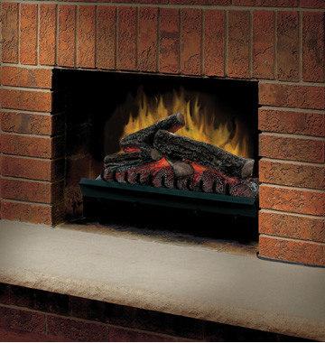 dimplex dimplex 23inch standard electric fireplace insertlog set dfi23096a
