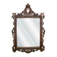 Regents Mirror, Bronze