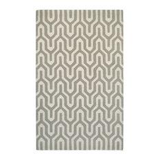 """Couristan Super Indo-Natural Cambria Area Rug, White-Gray, 9'6""""x13'"""