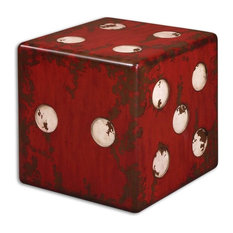 Uttermost   Dice Accent Cube Table   Side Tables And End Tables