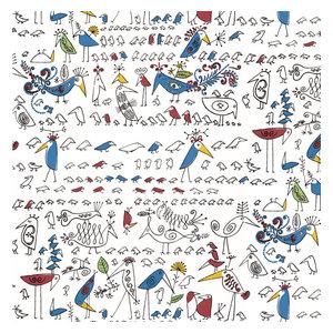 Schumacher Schumacher Birds Butterflies Vinyl Wallpaper Multi
