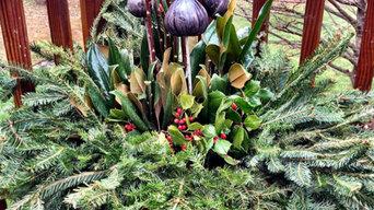 Winter Container Garden Design