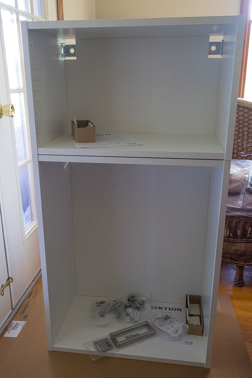 An Ikea Hack Converting A Drawer Front To Door