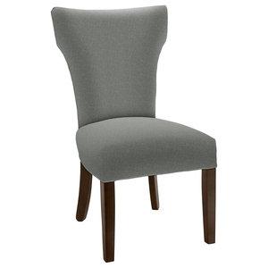 Hekman Woodmark Brianna Dining Chair, Light Blue Green