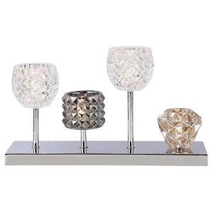 4 Light Gatsby Style Table Lamp