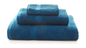 550 GSM 3-Piece Bath Towel Set, Dark Blue