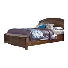 Liberty Furniture Industries, Inc. - Panel Storage Bed, King - Platform Beds