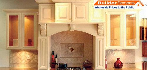 Real Wood Kitchen Cabinets! RTA CREAM MAPLE GLAZE KITCHEN CABINET!