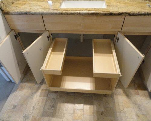 Bathroom Slide Out Shelves Cabinets