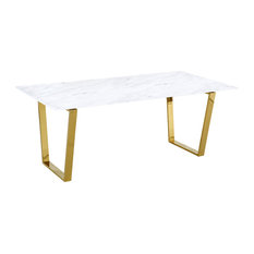 MOD - Iva Modern Marble Dining Table - Dining Tables