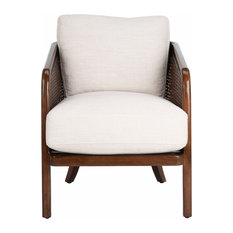 Studio Seven Caruso Barrel Back Chair Oatmeal