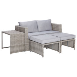 Transitional Outdoor Lounge Sets by Progressive Furniture