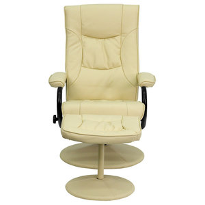 Terrific Mia Bentwood Reclining Chair And Ottoman Natural Black Ncnpc Chair Design For Home Ncnpcorg