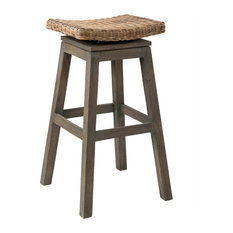 Superieur East At Main   East At Mainu0027s Danvers Brown Square Rattan Barstool   Bar  Stools And