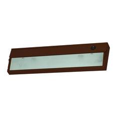 Aurora 1 Light Under Cabinet Light, Bronze