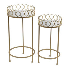 2-Piece Plant Stands, Iron