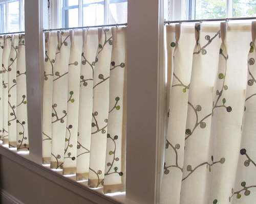 Linen Cafe Curtains Ideas, Pictures, Remodel and Decor
