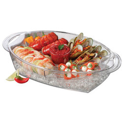 Contemporary Serving Trays by OCI