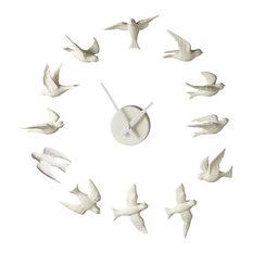 Contemporary Clocks Houzz