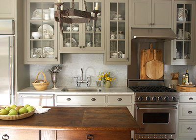 Eclectic  Painted Kitchen